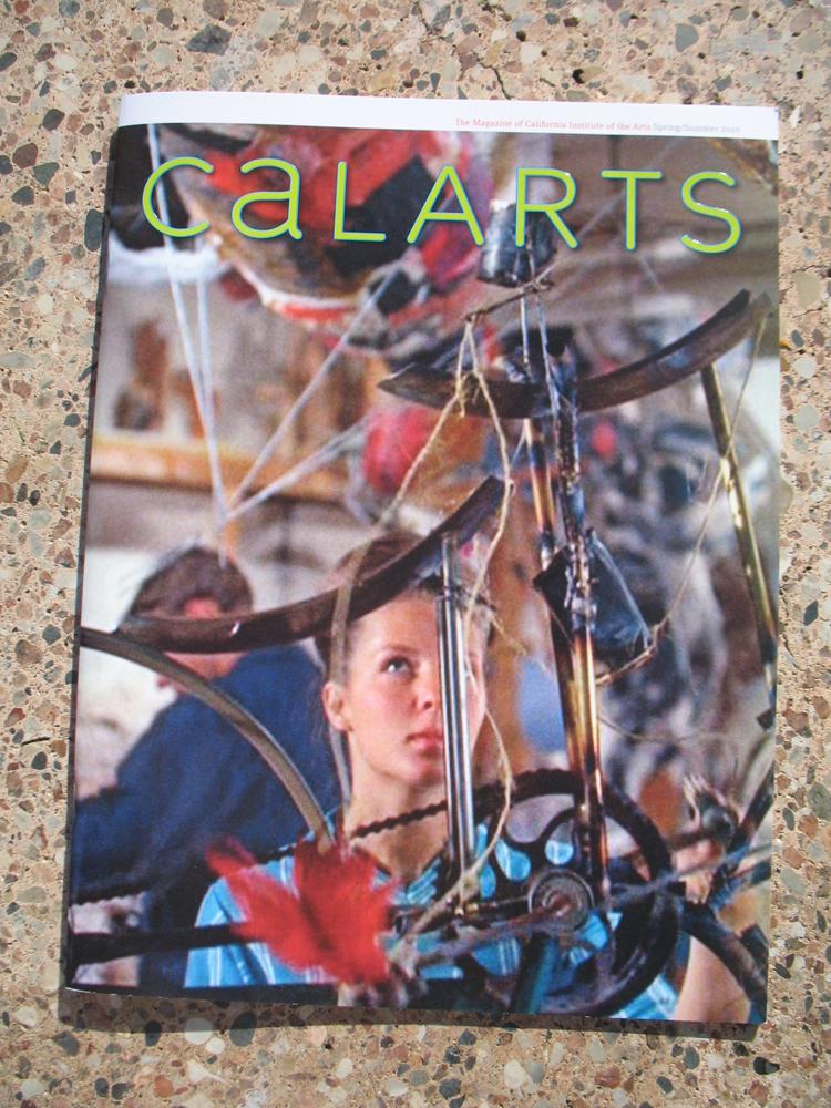 Calarts mag cover