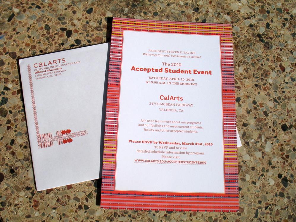 Blacvoice graphic design studio accepted student visiting day adm acct envel invite stopboris Choice Image