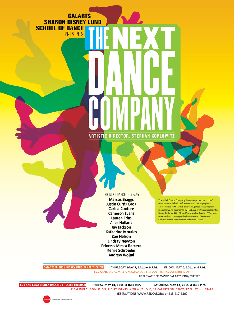 NEXT DANCE CO POSTER2011
